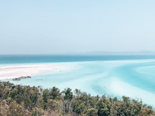 Whitehaven, beach, australie, roadtrip