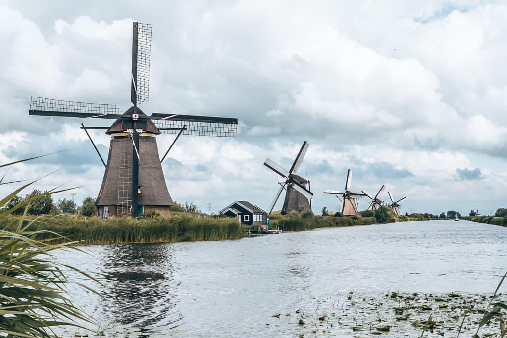 Molens van Kinderdijk, uitje in Nederland