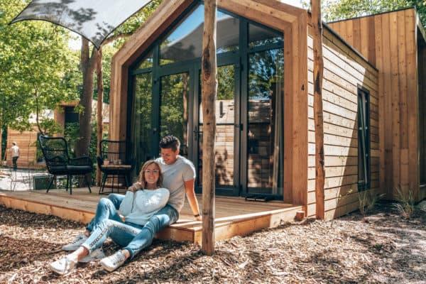 Leuk vakantiehuisje in Nederland, Camping Geversduin, stelletje