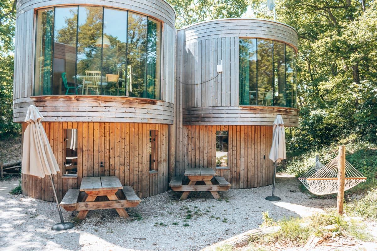 Vakantiehuisje in Nederland, Boomhuis Camping Geversduin, leuk vakantiehuisje in Nederland