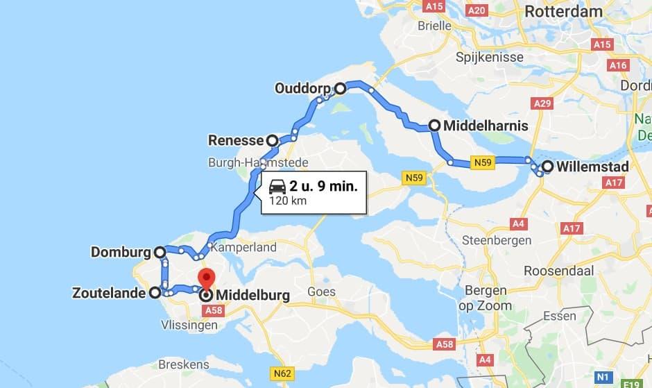 Nederland heeft prachtige streken die een roadtrip waard zijn. Denk aan oerHollands polderlandschap, grazende koeien, kerktorens, boerderijen en molens langs de sloten. Neem daarbij een volle picknick mand mee voor tijdens een pauze op een mooi plekje. Wil je een roadtrip maken met een bijzonder vervoersmiddel? Dan ben je bij de Volkswagenbus op het juiste adres. Voor een roadtrip kun je zelf een route uitstippelen naar de provincie Zeeland, Groningen of Zuid Holland. Wij helpen je alvast een handje met een toffe roadtrip route door de provincie Zeeland. De roadtrip door Zeeland brengt je langs alle hoogtepunten van Zeeland.