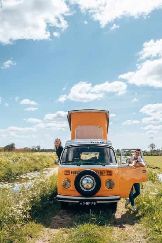 Roadtrip door Nederland met een Volkswagenbus, leuk uitje in Nederland
