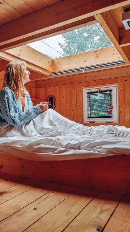 knusse vakantiehuisjes in de winter