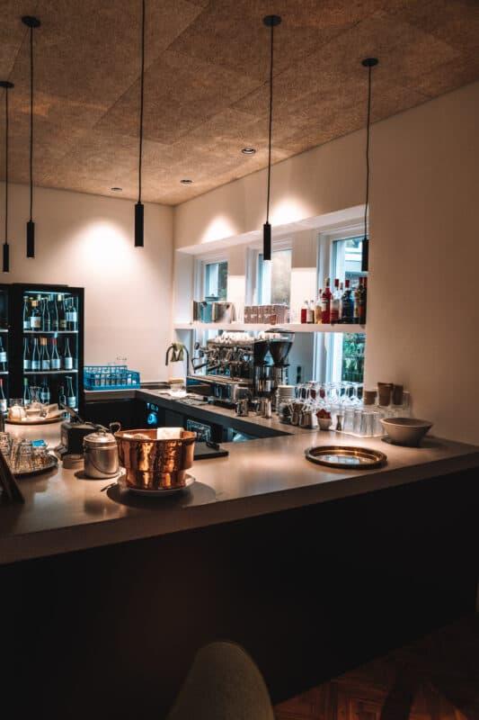 Bar van Casa Al Sole in de Dolomieten
