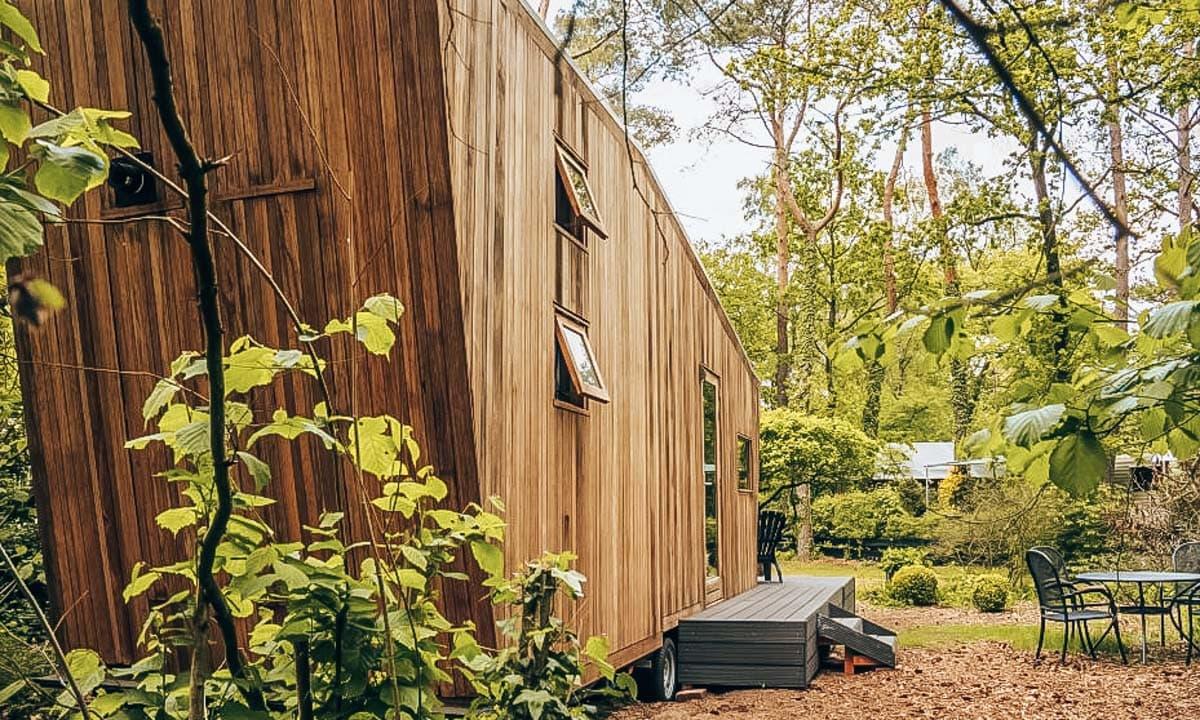 Mooie natuurhuisjes in Nederland, Tiny house in Houten