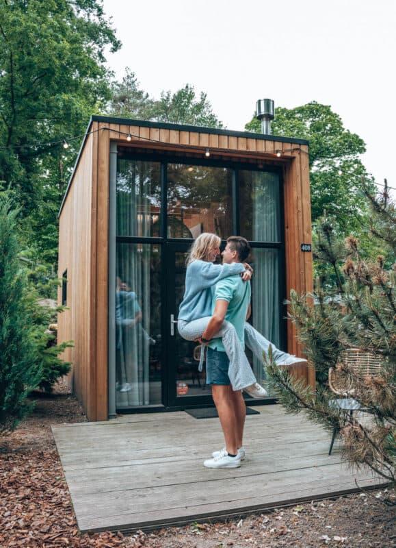Tiny house met hottub bij Droomparken