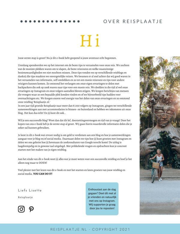 Handboek om een reisblog te beginnen en starten