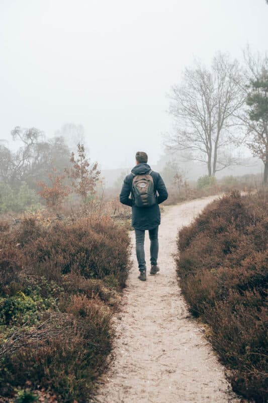 Routes voor mooie wandelingen op de Sallandse Heuvelrug, de holtersberg