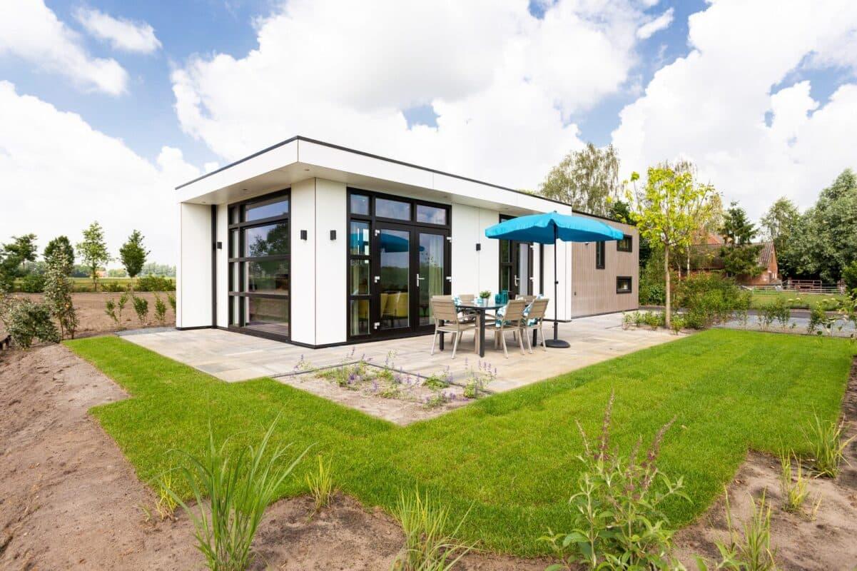 Wellness vakantiehuisje met jacuzzi voor twee personen in Nederland