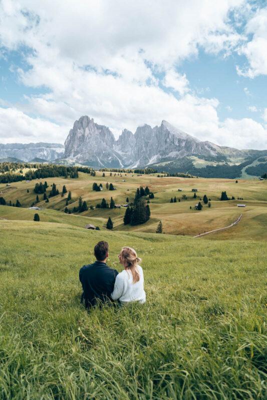 Foto hotspots Italie, Alpe di Siusi in de Dolomieten