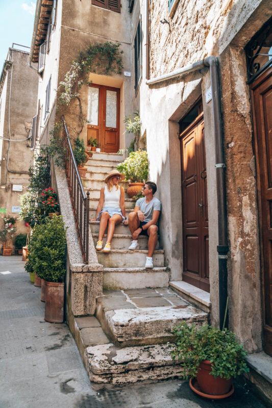 Foto hotspot in Toscane, Pitigliano