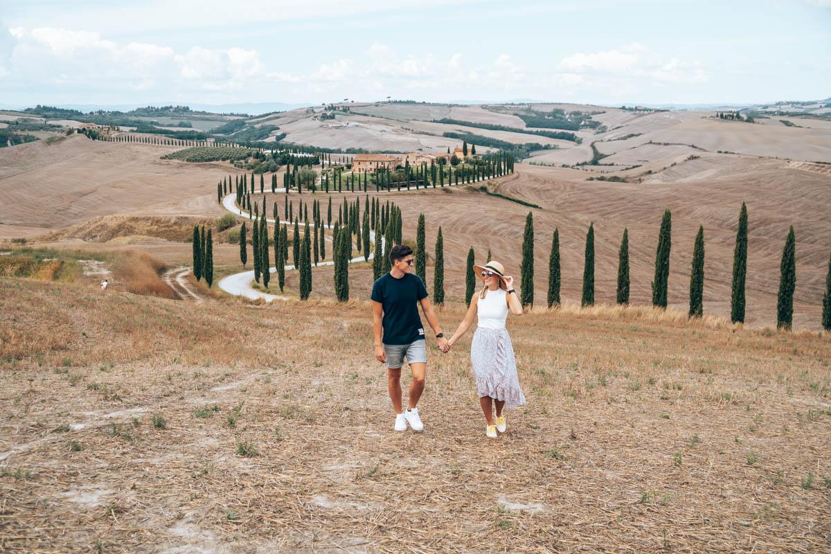 Instagram foto hotspots van Italie, Toscane