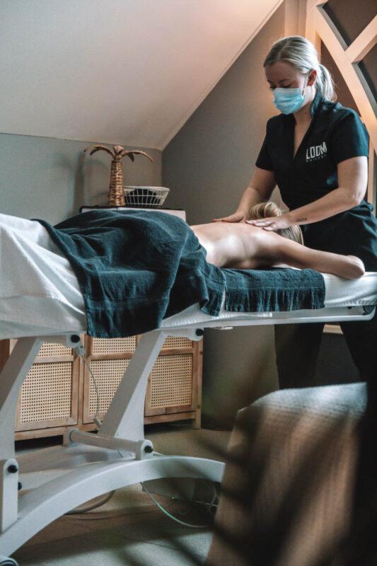 Massage bij de IJsvogel in Voorthuizen