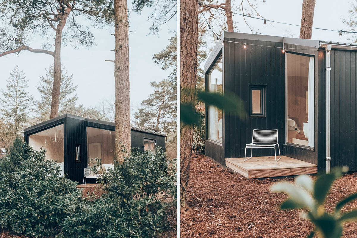 NOYR tiny house op de Veluwe voor 2 personen