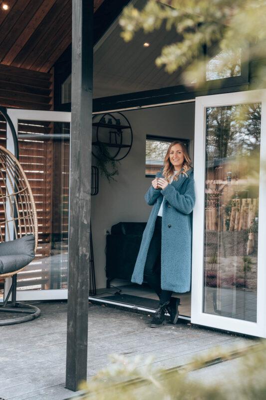 Tiny house met wellness op de Veluwe bij Park Berkenrhode