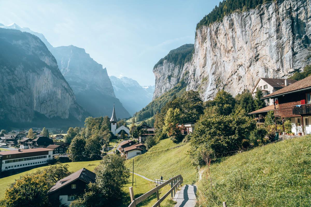 Roadtrip Zwitserland Lauterbrunnen
