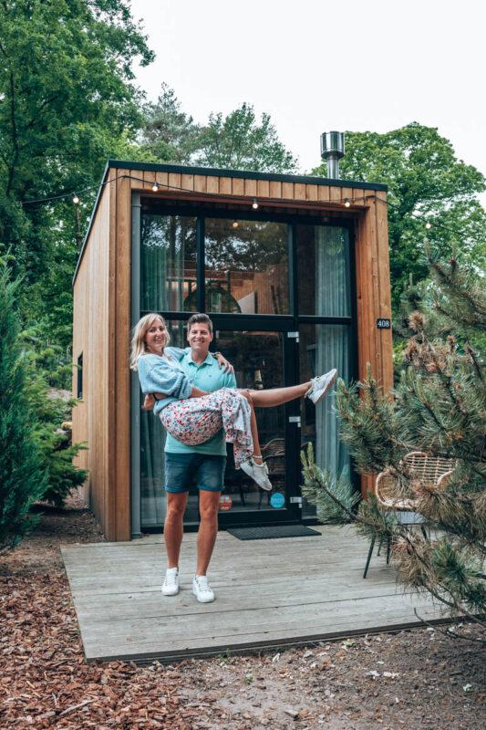 Bijzondere vakantiehuisjes op de Veluwe voor 2 personen, tiny house Droomparken