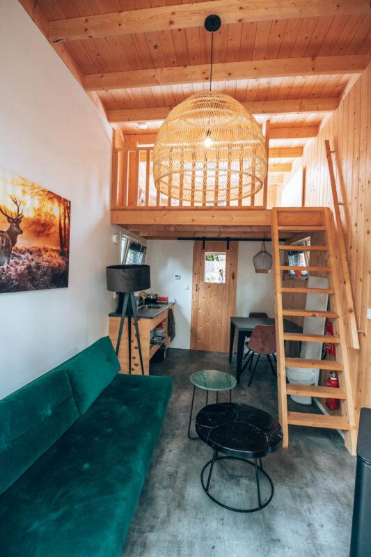 Romantische vakantiehuisjes op de Veluwe voor 2 personen, tiny house Droomparken