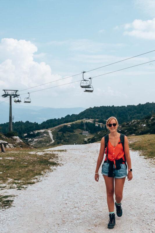 Reisroute met dagplanning door Slovenie: Kabelbaan Vogel