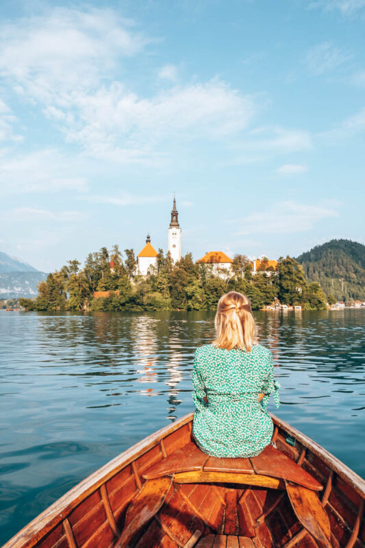 Reisroute Slovenie voor 1 week - meer van Bled