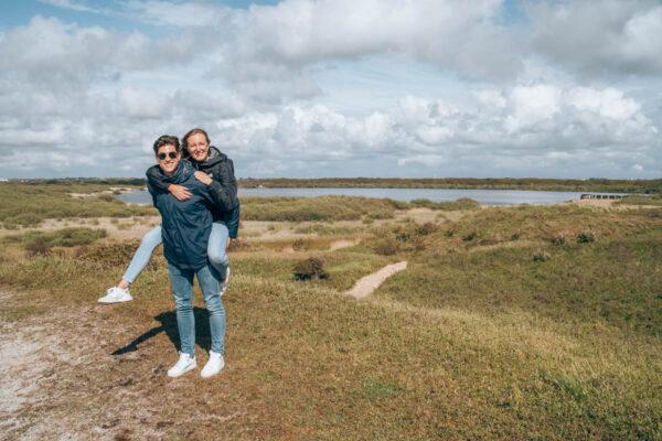 Wandelen bij het Zwanenwater in Callantsoog