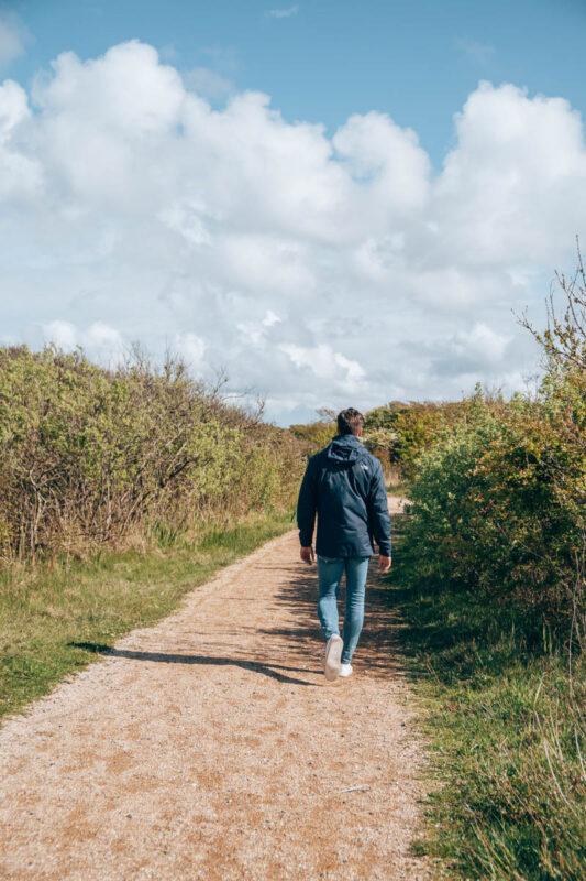 Wandelingen in het Zwanenwater in het Noord Hollandse Callantsoog