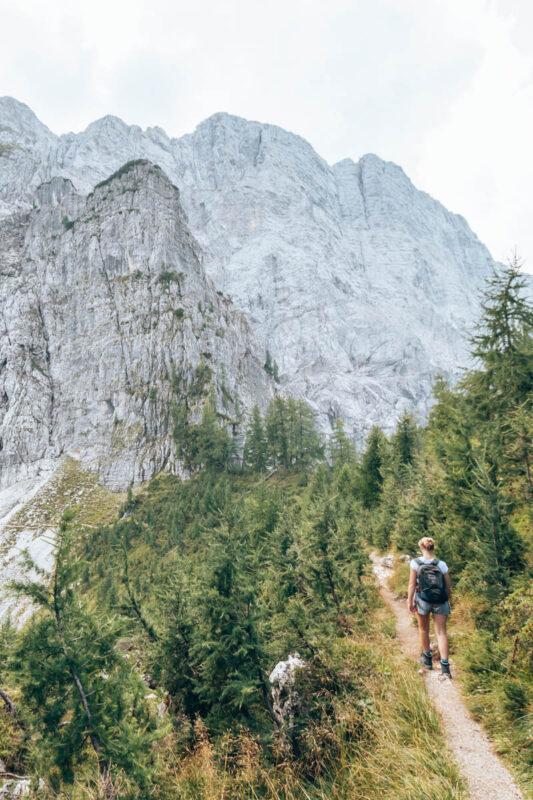 Wandeling Triglav Nationaal Park - Slemenova Spica bij Vrsic Pass