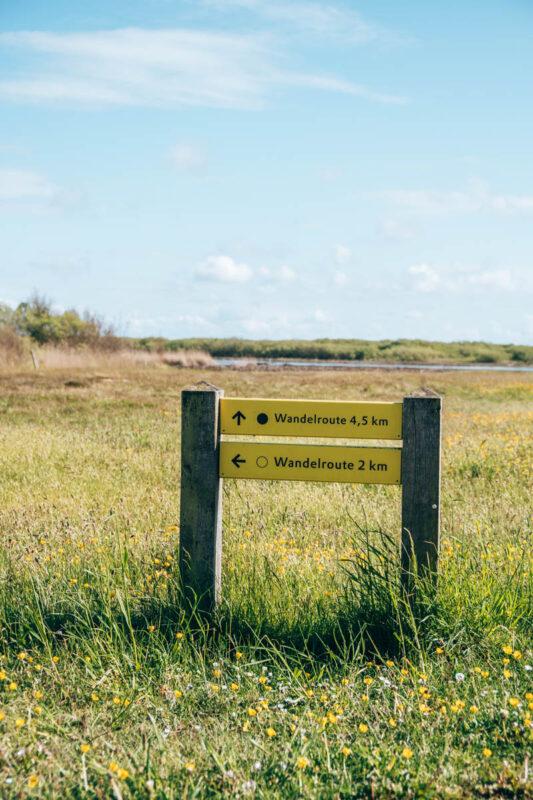 Wandelroutes het Zwanenwater in Callantsoog