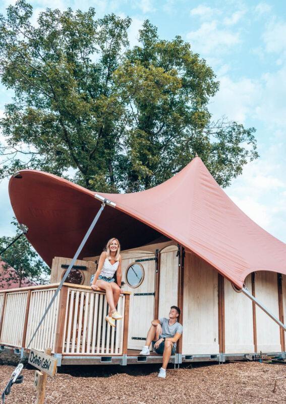 Glamperen bij Glamp Outdoor Camp op de Veluwe