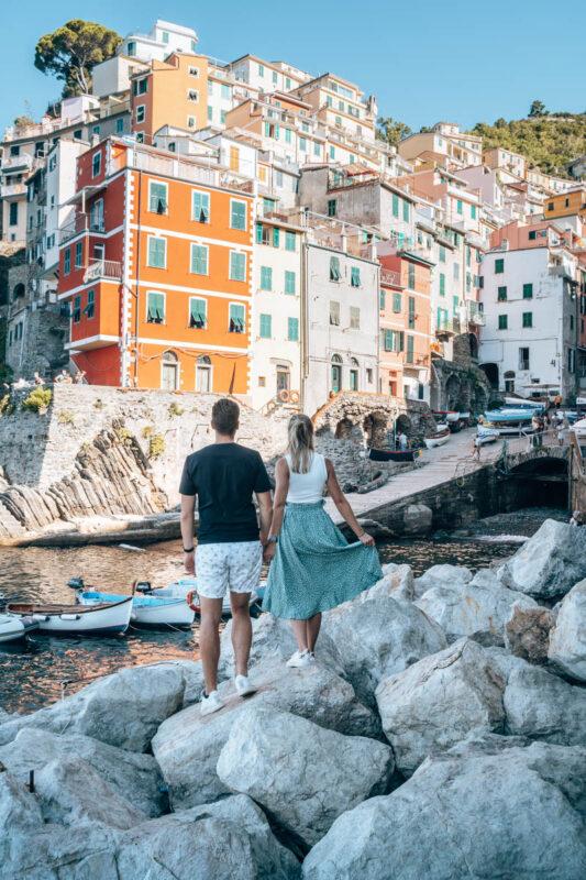 Aanbeveling voor Cinque Terre: wandelen, met de trein of auto?