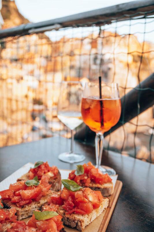 Tips restaurants met uitzicht Cinque Terre