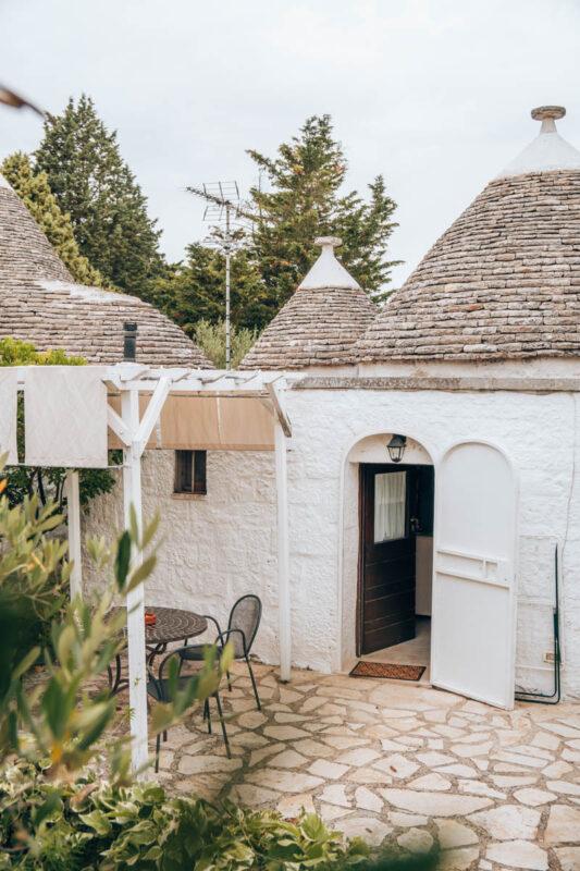 Tips om te overnachten in een trullo in Alberobello