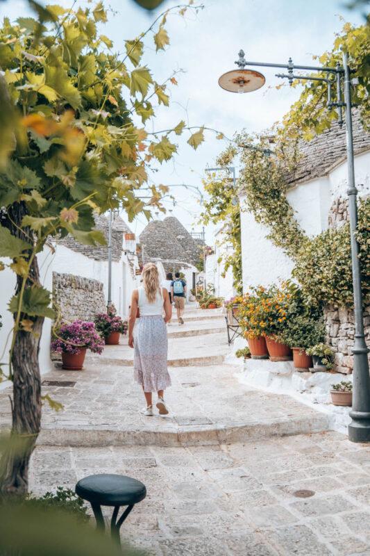 Alberobello vakantie in Puglia