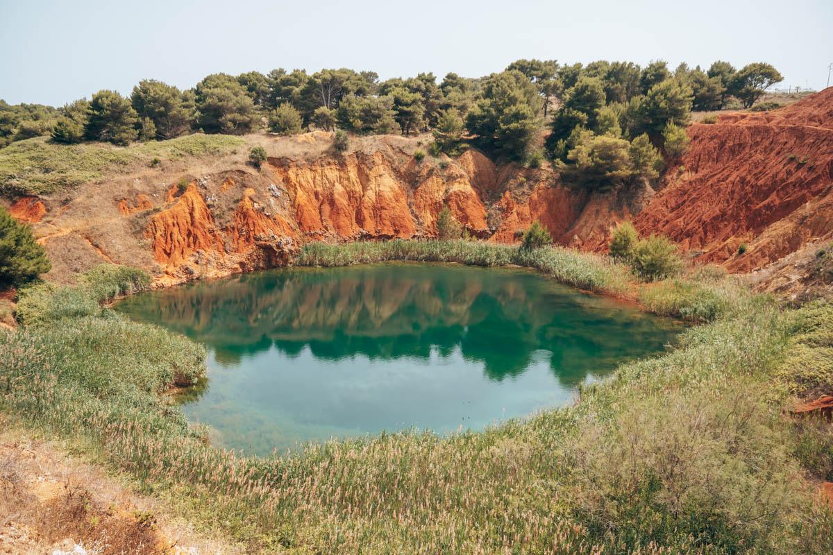Bijzondere plek Puglia Cava di Bauxite