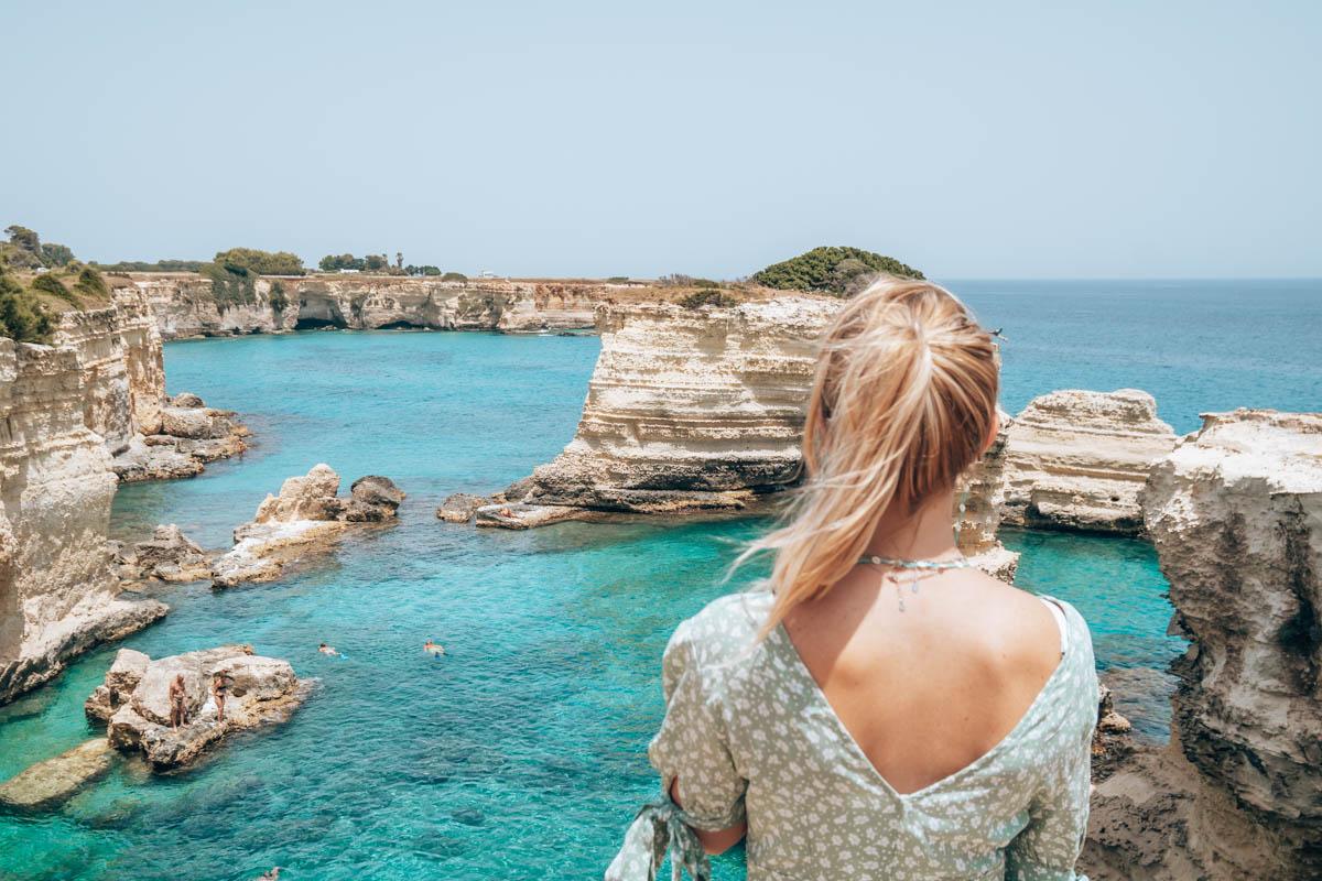 Mooiste plekken Puglia aan de kust:Torre Sant'Andrea