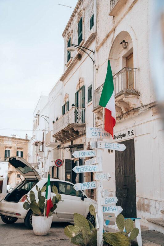 Auto huren roadtrip Puglia