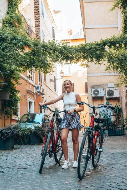 Tip wat is leuk Rome? Huur een fiets bij Baja Bikes