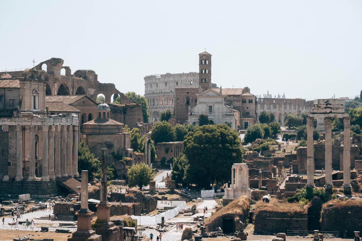 Tips wat bezichtigen in Rome: Forum Romanum