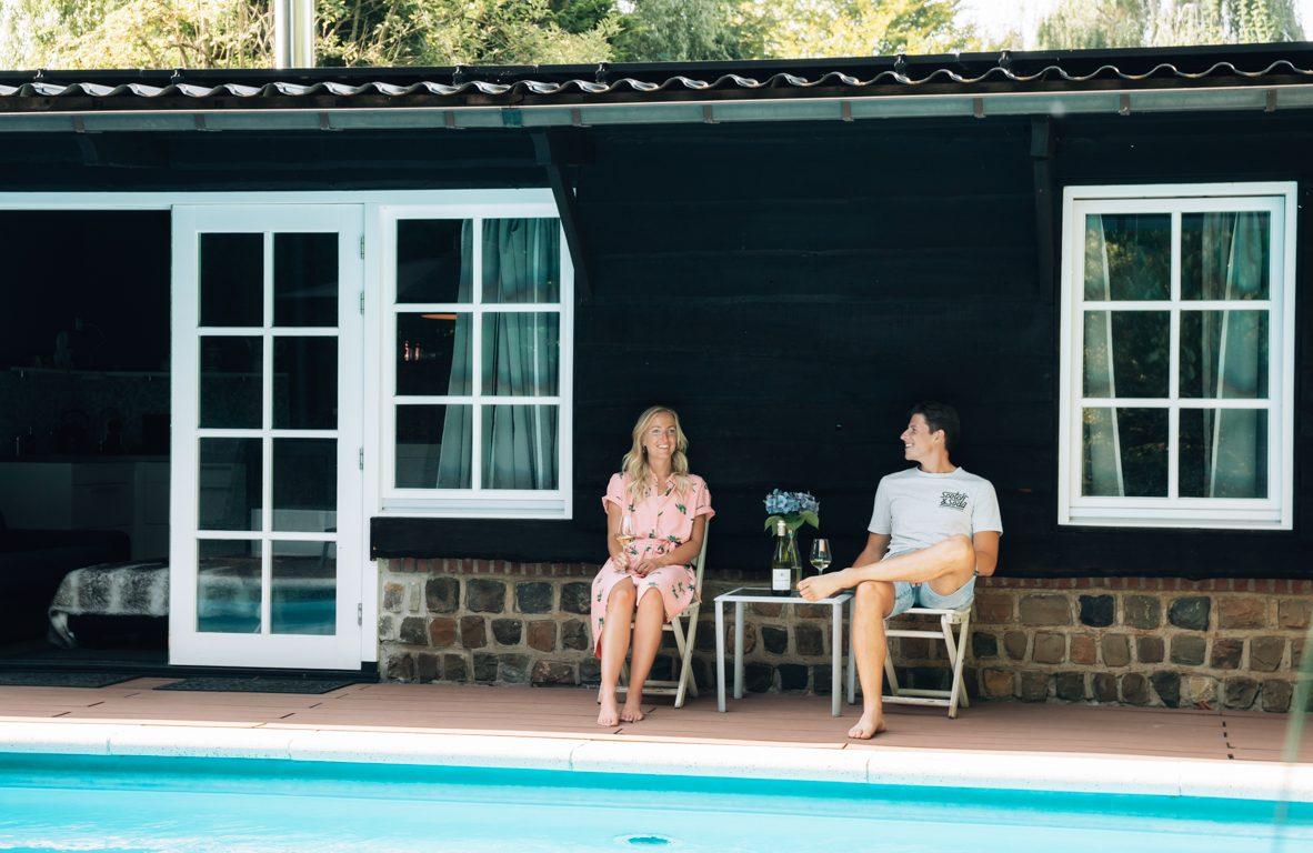 B&B met zwembad in Brabant_ overnachten bij Hush bed en breakfast